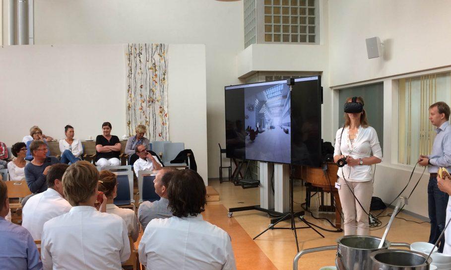 VR met gebruikers